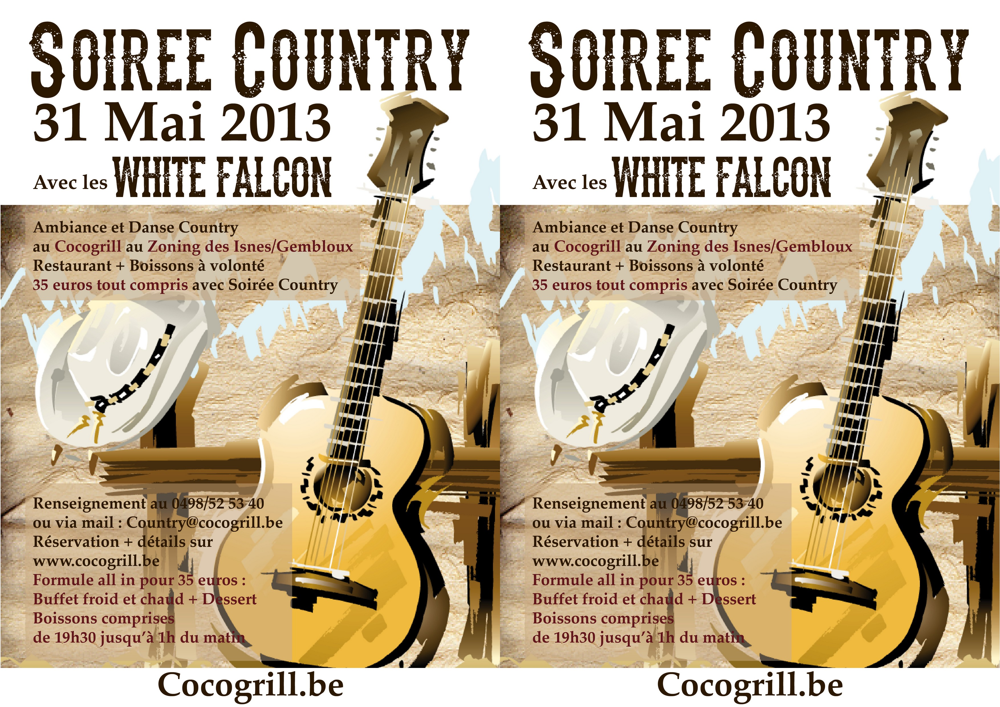 Affiches Country